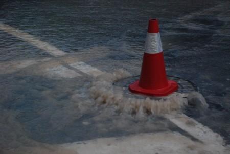 Det tyt vatn ut alle plassar!