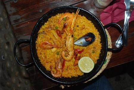 Herleg mat - Paella