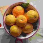 Appelsin i bolle!