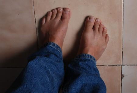 Langbukser kan eg ta på meg, men sokkar e for piglete meiner eg.