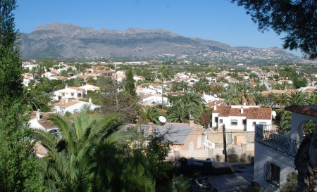Foya Blanca, den gamle appelsinlunden i Alfaz.