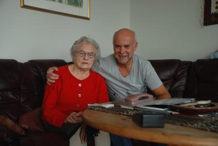 Hanna held seg utruleg godt. Ho vert 92 i april.