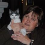 Hilde og katten Brumle (!)