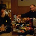 Hilde og Bjørgulv i Kviteseid