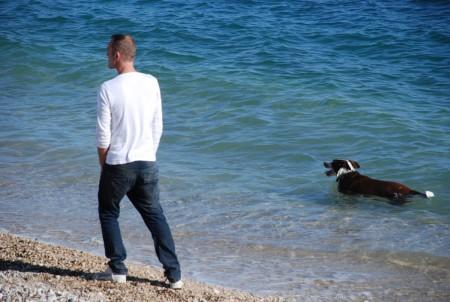 Godt å bade i middelhavet framleis!