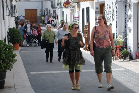 På opplevingstur i Guadelest